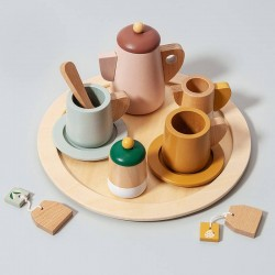 Wooden tea set Petit Monkey