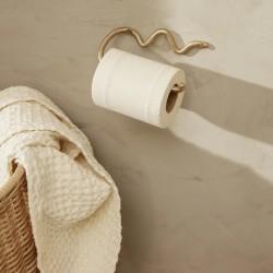 """Ferm Living support papier-toilette laiton """"curvature"""""""