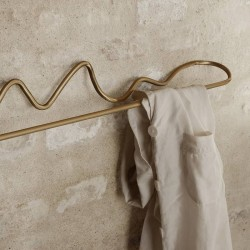 Ferm Living brass towel...
