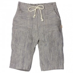 Maileg - pantalon rayé lin (mega)