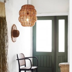 Bamboo ceiling lamp Madam...