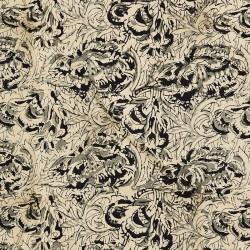 Madam Stoltz matelas de transat : beige, noir, gris 70x180cm