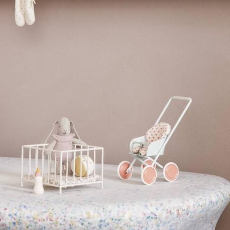 "Maileg poussette miniature ""stroller"", micro"