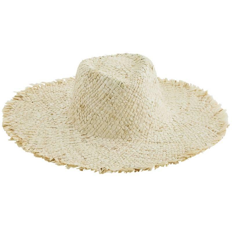 Chapeau de paille naturel Madam Stoltz