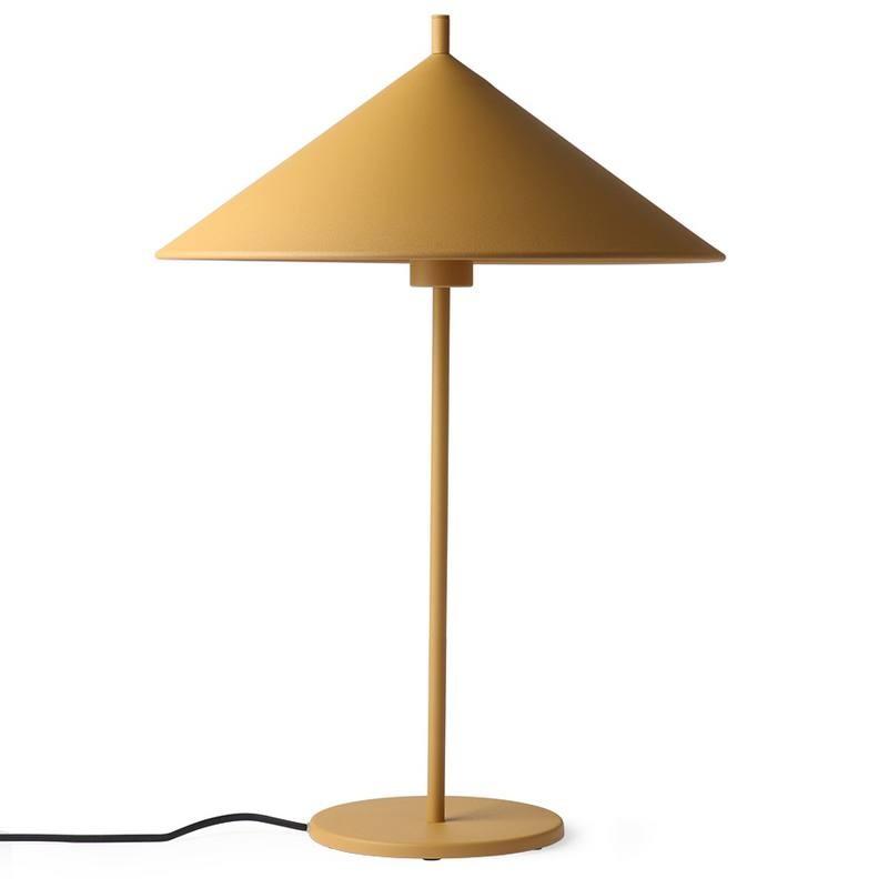 """Lampe en métal ocre """"triangle"""" HK LIVING"""