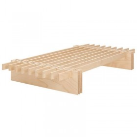 lit bois, ajustable et 100% naturel