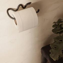 support pour papier toilette en métal noir