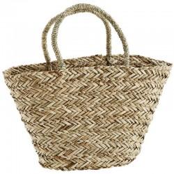 Madam Stoltz straw bag with...