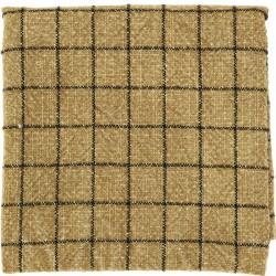 Madam Stoltz woven kitchen towel mustard