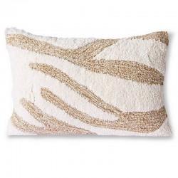 HK living fluffy cushion...