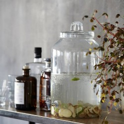 House Doctor glass container
