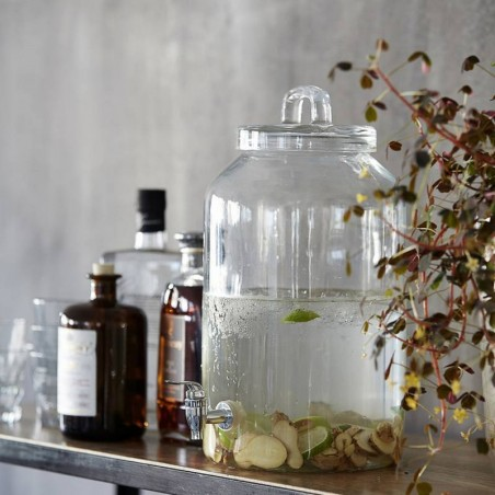Distributeur de boisson en verre House Doctor