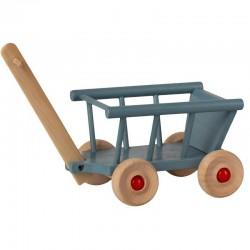 MAILEG wagon, blue (micro)
