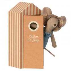 Maileg beach mum mouse in...