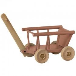 Maileg wagon, dusty rose...