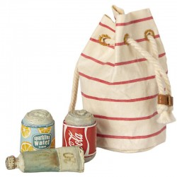 Maileg sac de plage avec accessoires