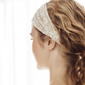 Bandeau pour les cheveux, écru (S) By NORD