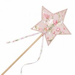 Numero 74 baguette magique étoile lovely liberty rose