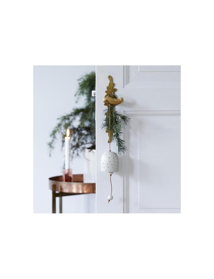 Cloche de noël en porcelaine oyoy living design