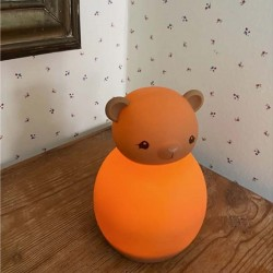 lampe veilleuse ours silicone Konges Slojd