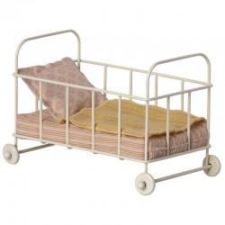 Maileg lit cot bed rose...