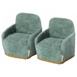 Maileg pack of 2 chair, mouse