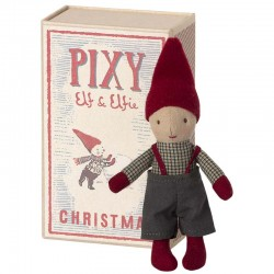 pixy elf doll in matchbox by Maileg