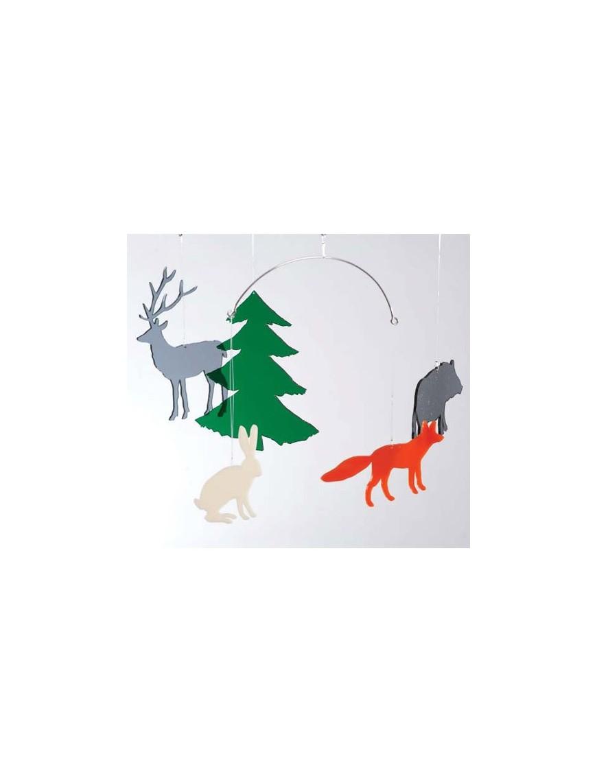 bomb design mobile animaux de la forêt