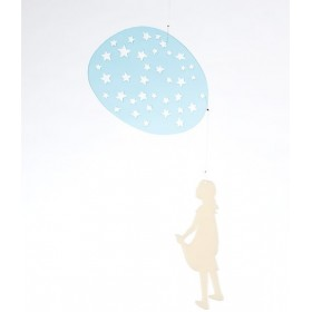 bomb design mobile *fillette dans les étoiles*