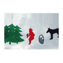 BOMBDESIGN - Mobile *Little Red Riding Hood* 4 motifs