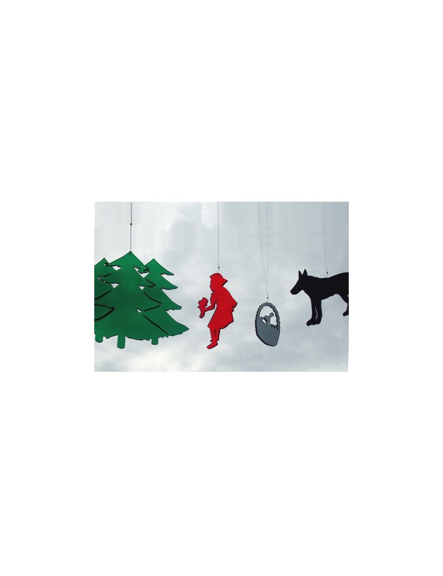 bomb design mobile enfant design le petit chaperon rouge