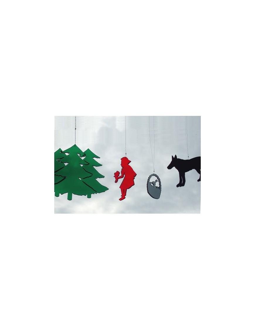 BOMBDESIGN - Mobile *Little Red Riding Hood* 4 motifs