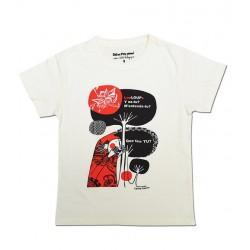 NEW! - T-Shirt Fille Coq en Pâte 100% bio - Promenons-nous