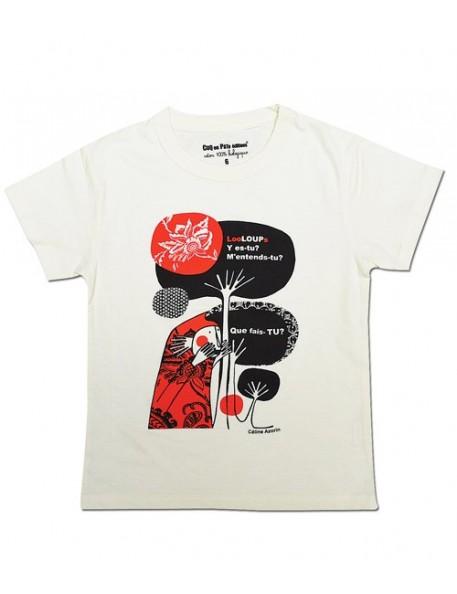 4A - Coq en Pâte T-Shirt Bio - Promenons-nous