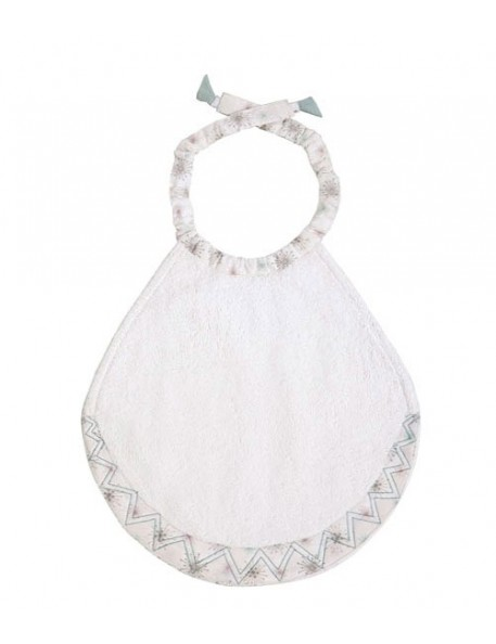 AIRDEJE - Bib - white with stars print
