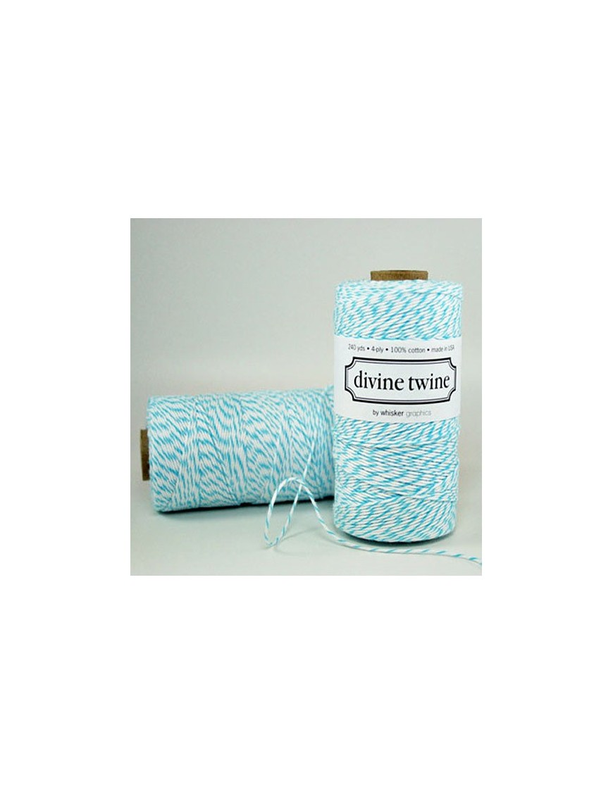 Divine Twine - Ficelle Baker Twine - Turquoise