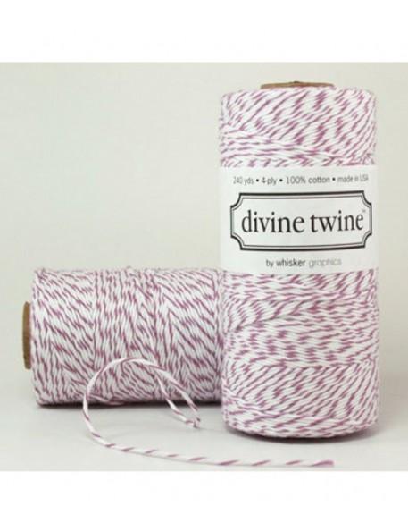 Divine Twine - Ficelle Baker Twine - Prune