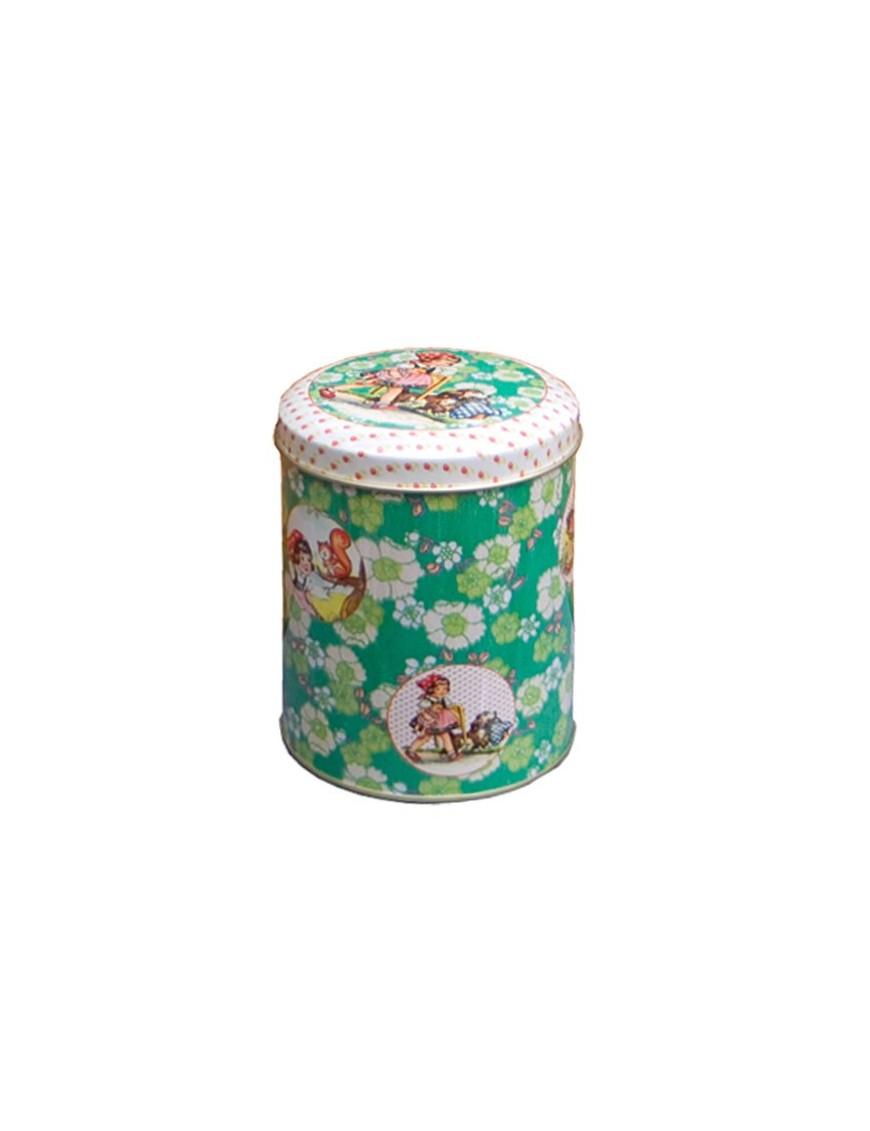 FROY&DIND Boîte Cylindrique en Métal Fillette