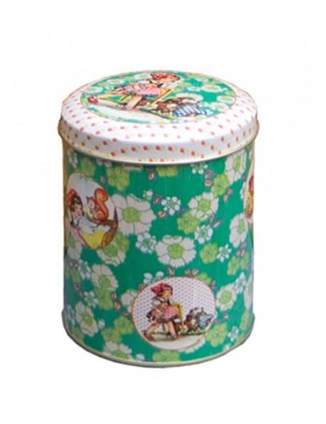 FROY&DIND - Boîte Cylindrique en Métal - Fillette