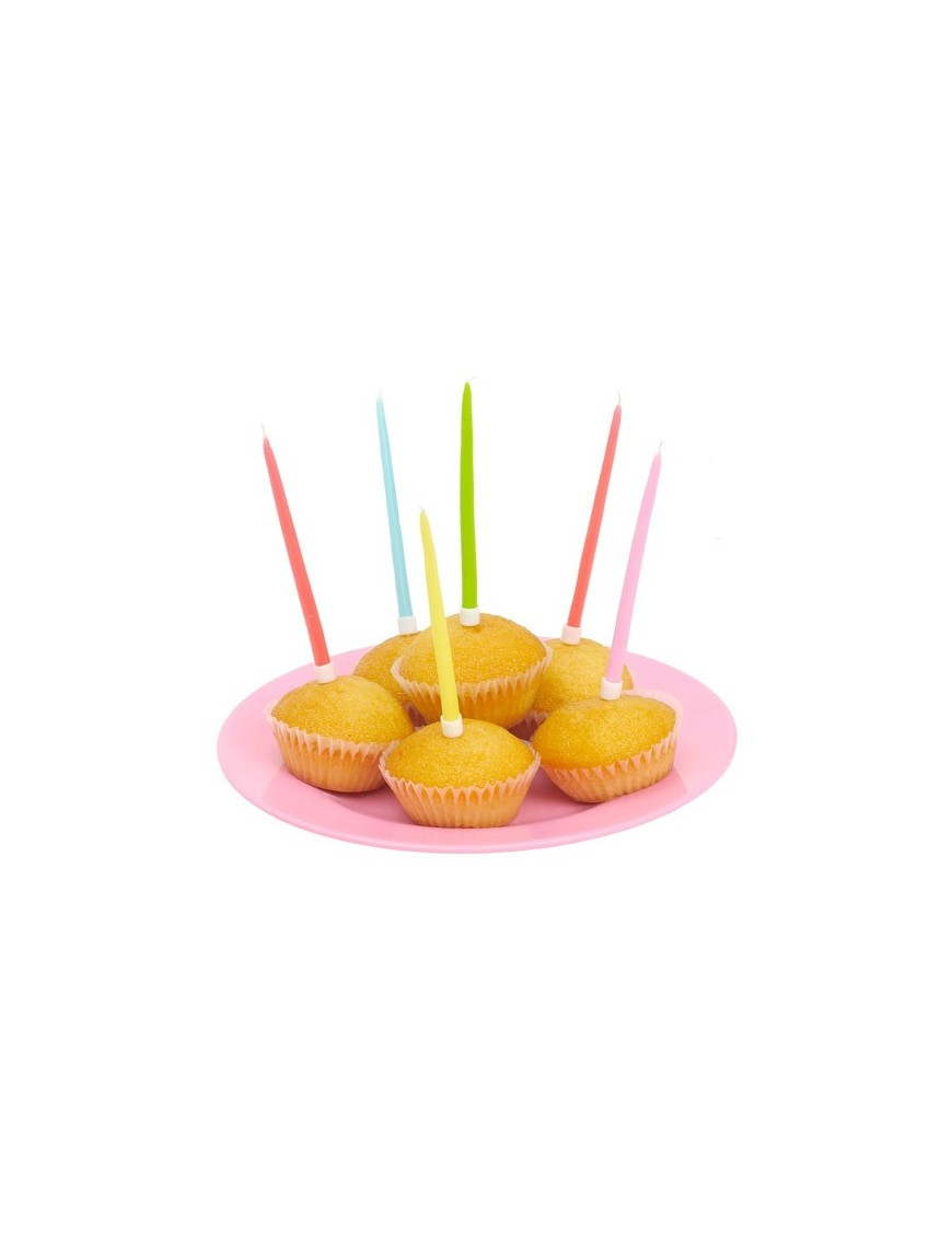 Cake candles in Pastel colours by RICE (20