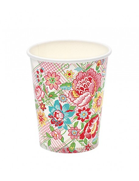 Greengate - 10 Paper Cups - Maggie White