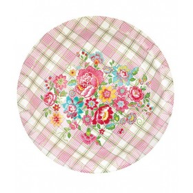 Greengate - 10 Paper Plates - Maggie White