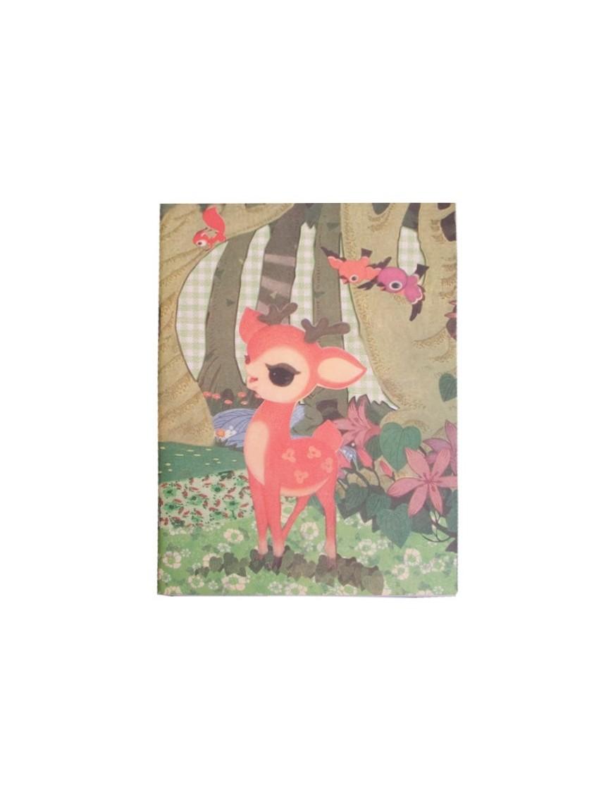 Carte postale vintage Cheval à bascule