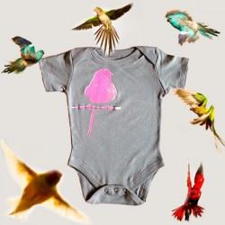 Shirin kids body bébé bio neon bird