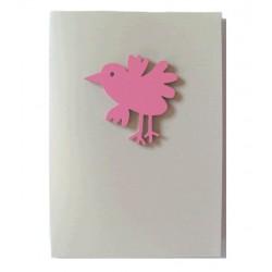 """Carte avec magnet """"Bird"""""""