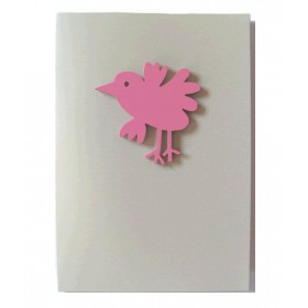 """Gift Card with Magnetic object """"Bird"""""""