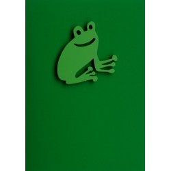 "Gift Card with Magnetic object ""Frog"""