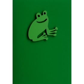 """Gift Card with Magnetic object """"Frog"""""""