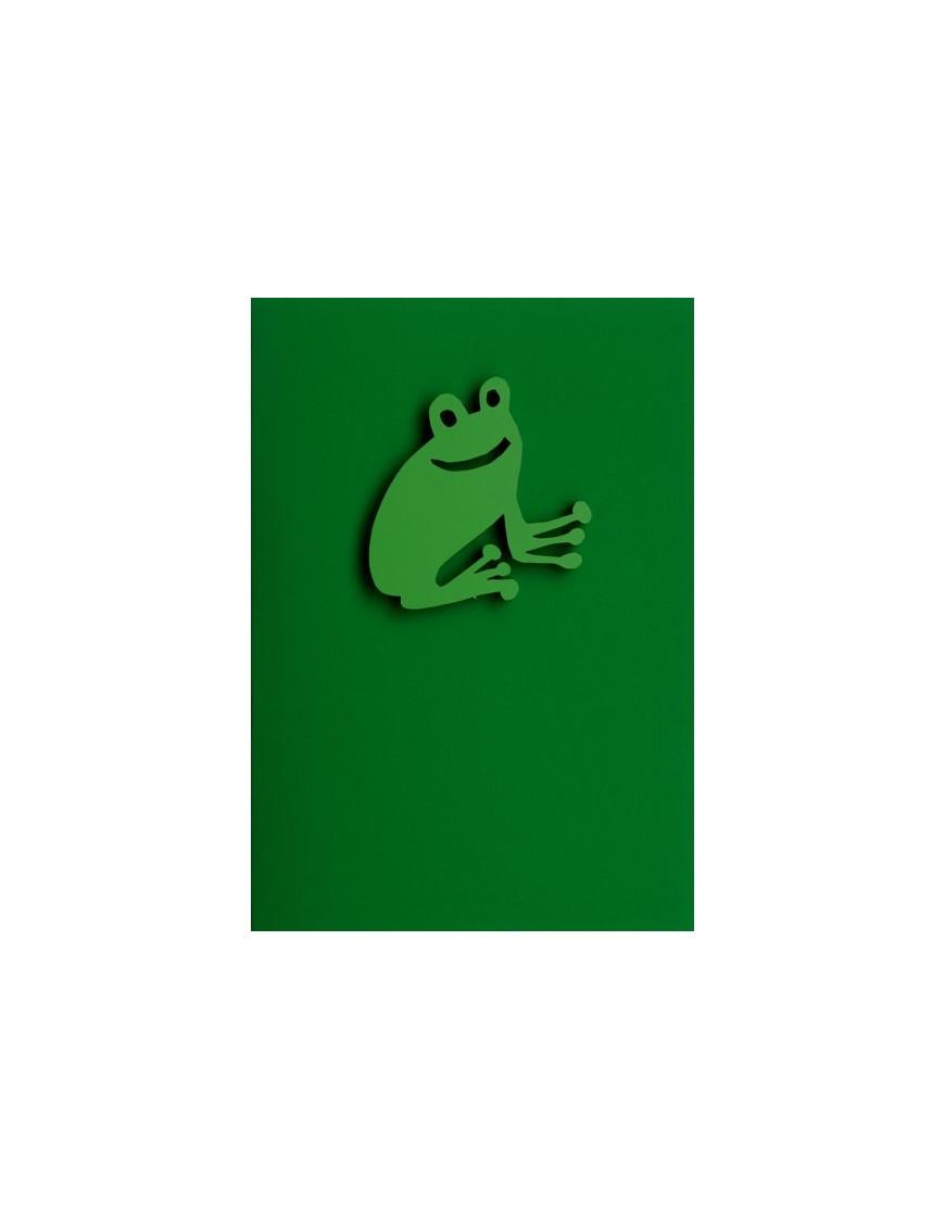 """Carte avec magnet """"Frog"""""""