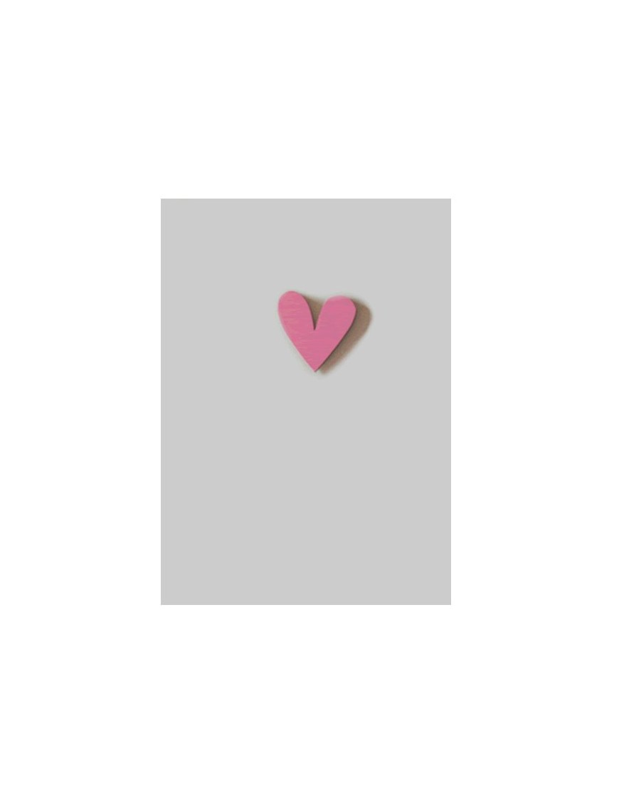 """Gift Card with Magnetic object """"Heart"""""""
